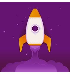 space ship vector image