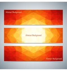Modern colorful set of banners for your vector
