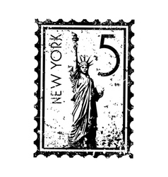 New york icon vector