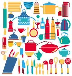 Kitchen and restaurant icon vector