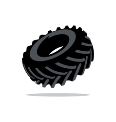 Tyre Cartoon vector image