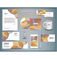 Corporate identity templates vector
