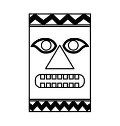 Hawaii token culture icon vector