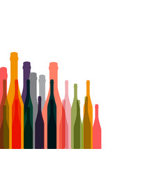 wine background color vector image vector image