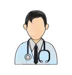 Isolated doctor design vector