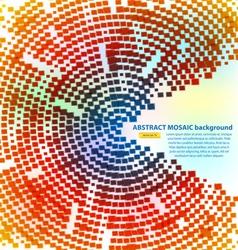 haftone mosaic vector image vector image