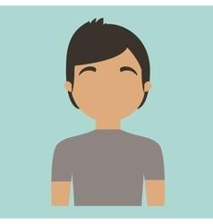 Man portrait icon image vector