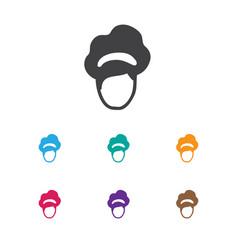 Of hairdresser symbol on vector