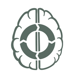 Endless brain process vector