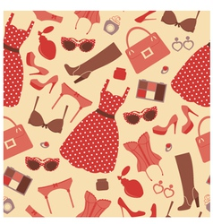 Fashion pattern vector image