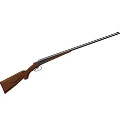 Classic Hunting Rifle vector image