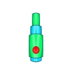 Electronic cigarette atomizer icon cartoon style vector