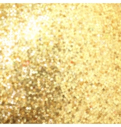 Golden mosaic Abstract background EPS 8 vector image