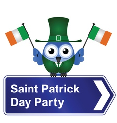 SAINT PATRICK DAY PARTY vector image vector image