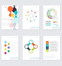 Set of timeline infographic design templates vector