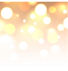 shiny glitter bokeh lights background defocused vector image