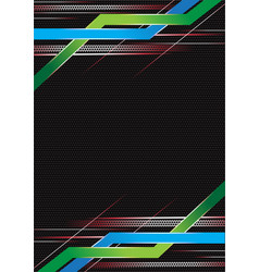 Abstract modern frame vector