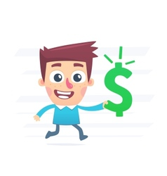 How to spend money vector image vector image
