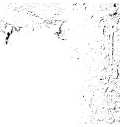 Wall with Black and white scratches vector image vector image