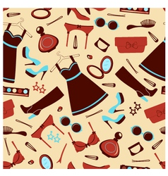 Fashion wallpaper vector image