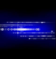 Binary code background vector