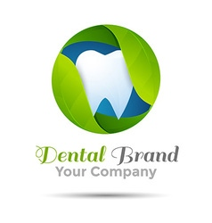 dental logo or symbol design Template for your vector image vector image