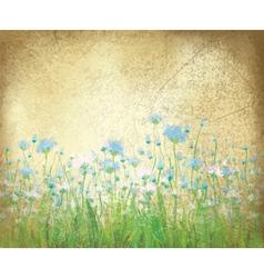 Floral background paper vector
