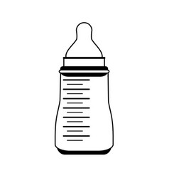 formula bottle baby related icon image vector image vector image
