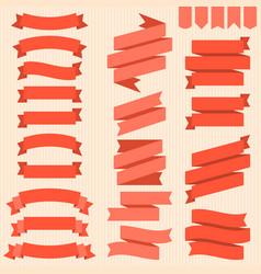 Ribbon and badges set 2 vector
