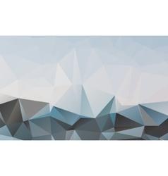 Polygonal abstract wallpaper vector