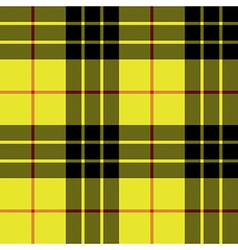 Macleod tartan kilt fabric texture plaid seamless vector