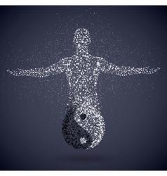 Yang masculine vector image