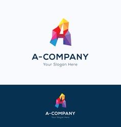 A-company logo vector