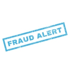 Fraud Alert Rubber Stamp vector image vector image