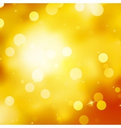 Glittery gold Christmas background EPS 10 vector image