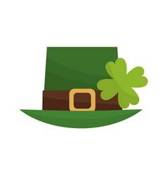 Irish top hat icon vector