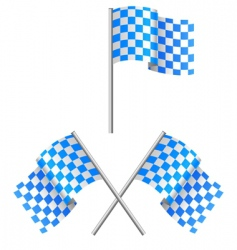 sea alarm flag vector image vector image