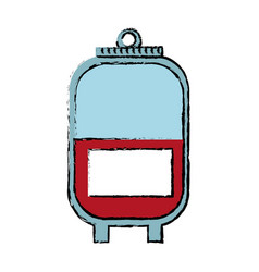 Bag blood healthy care medicine image vector