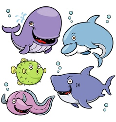 Sea animal vector