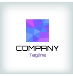 Abstract logotype for business vector image vector image