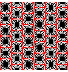 Design seamless three-color abstract pattern vector