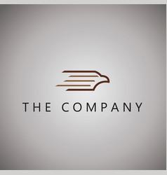 Eagle logo ideas design vector
