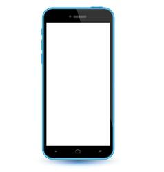 Smartphone realistic mockup vector