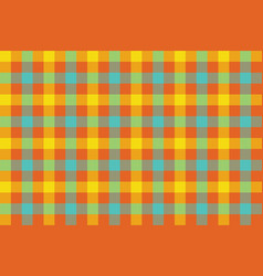 colors check fabric texture background seamless vector image vector image
