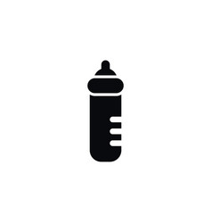 isolated feeder icon infant nutrition vector image vector image