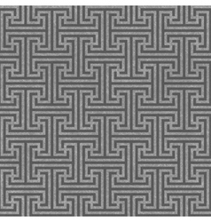 Seamless geometric key pattern vector