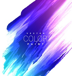colorful bright ink stain design vector image