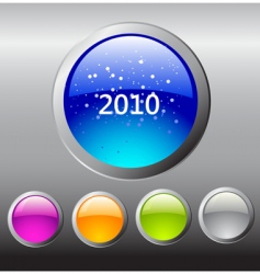 2010 buttons vector