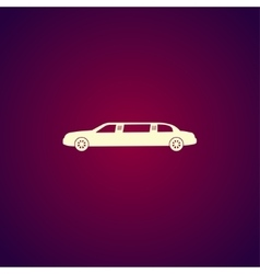 Limousine icon concept for vector