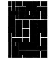 Block pattern vector image